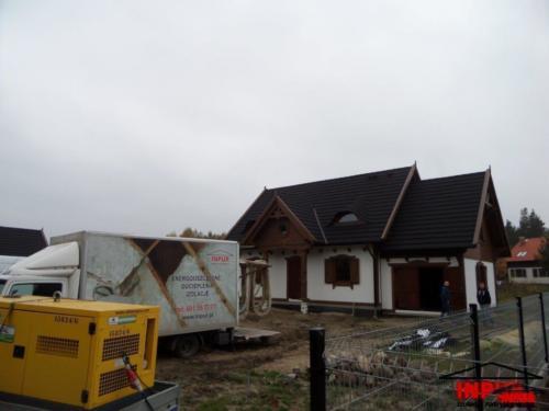 <div>2016-10-28</div> Stara Kiszewa-dom szkieletowy Sendom