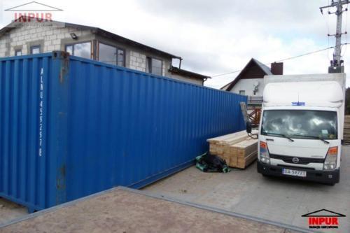 <div>2016-04-22</div> Sierakowice - izolacja kontenera