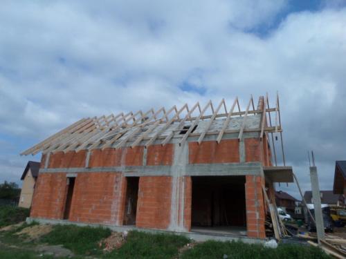 <div>2017-06-05</div> Dąbrowka Ług koło Siedlec poddasze i dach